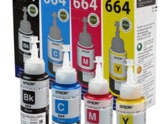 EPSON L SERIES 664 INK BOTTLES