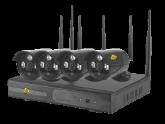 Ozone Wallcam 4 CH. 2 MP WI-FI kit